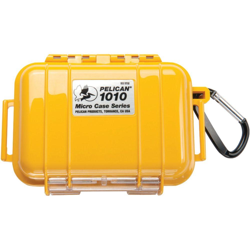 Pelican Micro Case, Yellow/Solid