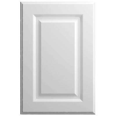 11x15 in. Elgin Cabinet Door Sample in White