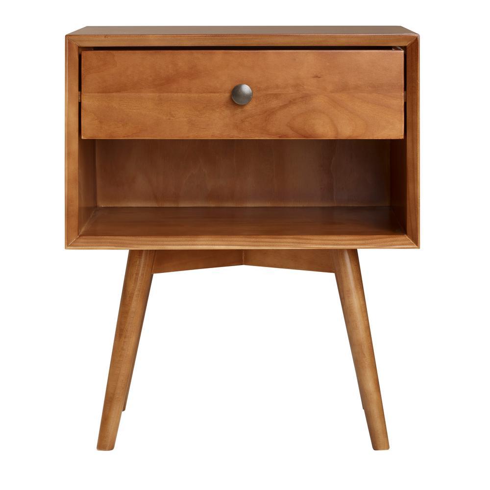 Home Furniture Company: Walker Edison Furniture Company Mid-Century 1-Drawer