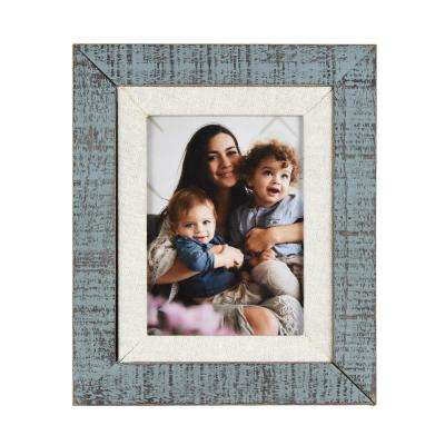 Dennisport Linen and Wood 5 in. x 7 in. Picture Frame (Set of 2)