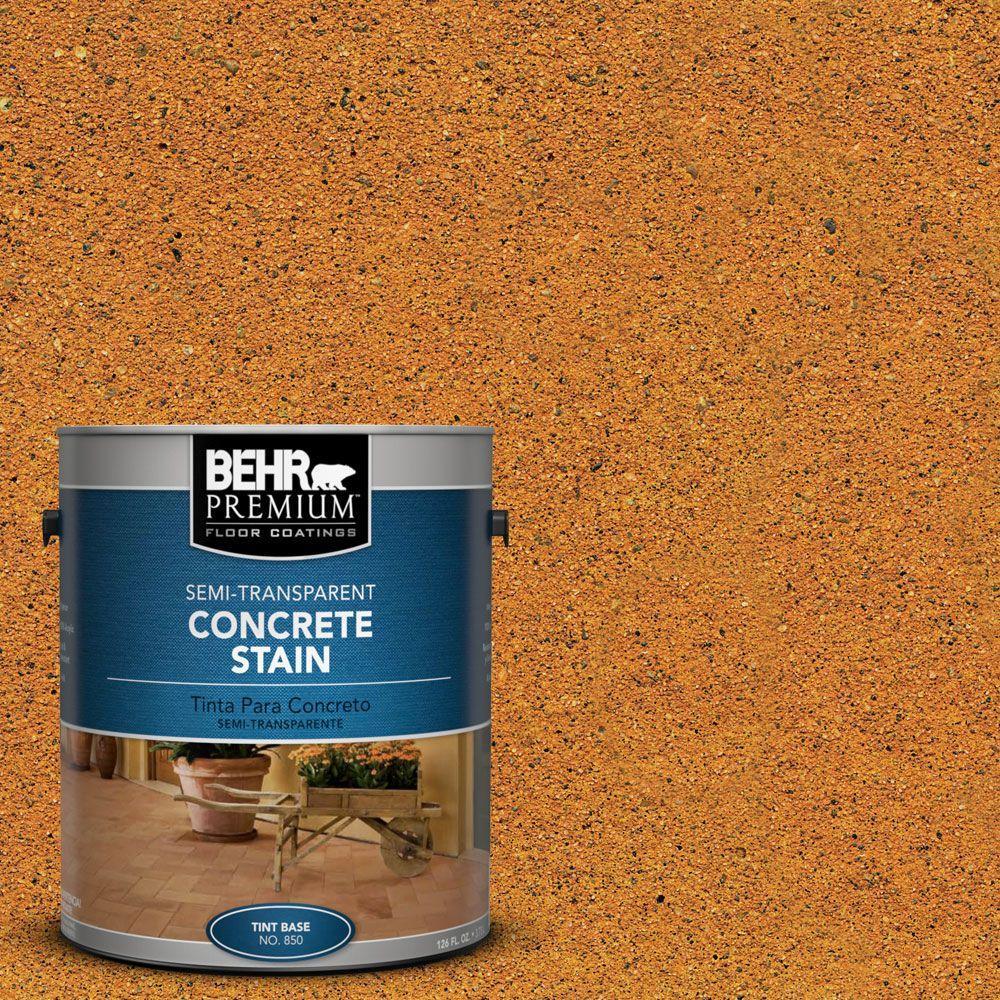1 gal. #STC-20 Tuscan Gold Semi-Transparent Concrete Stain