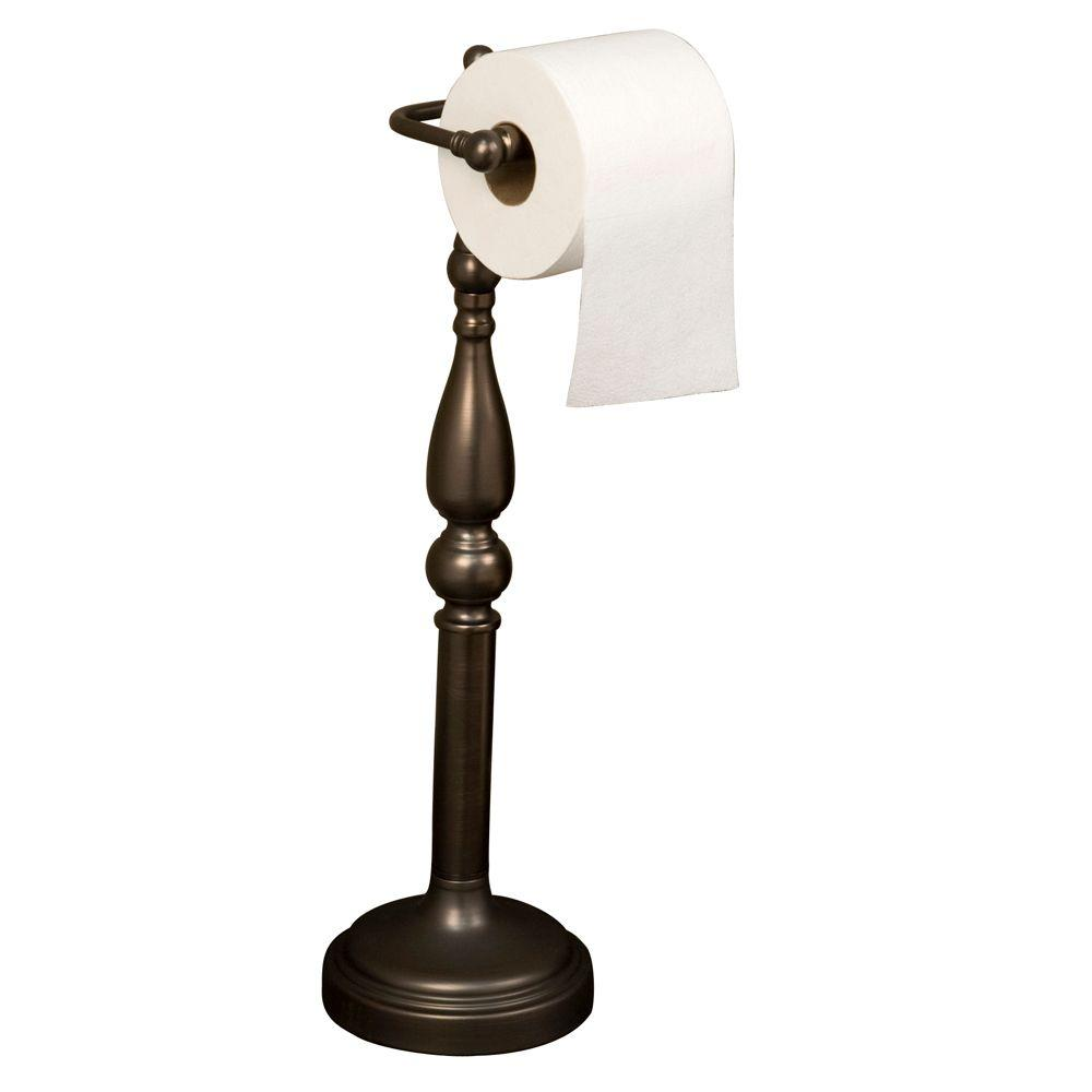 Barclay Products Everdeen Freestanding Toilet Paper Holder in Oil Rubbed Bronze