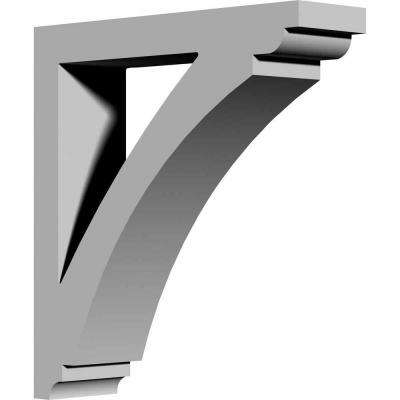 4 in. x 15 in. x 16 in. Primed Polyurethane Richmond Bracket