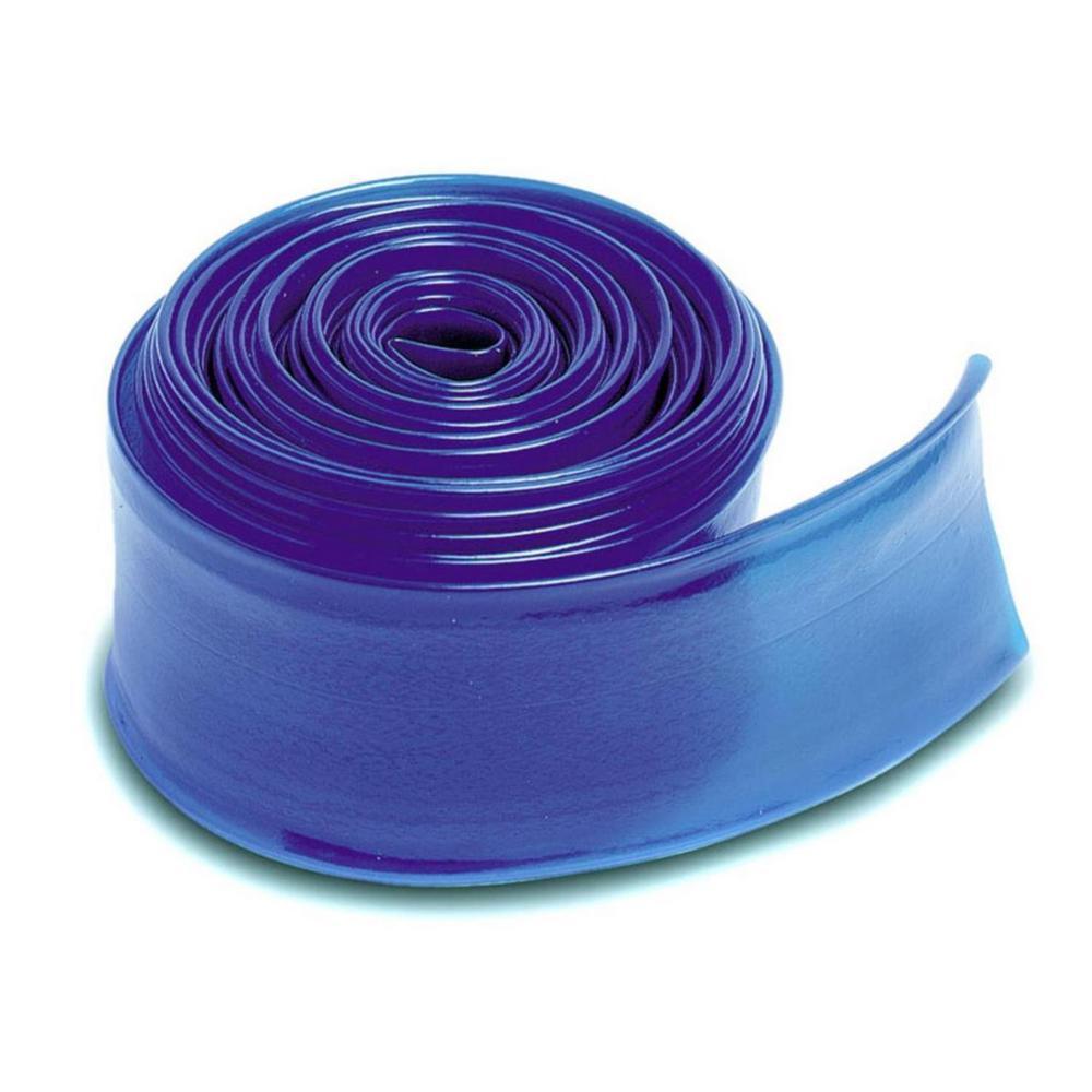 100 ft. x 2 in. Heavy-Duty Swimming Pool PVC Filter Backwash Hose in Blue