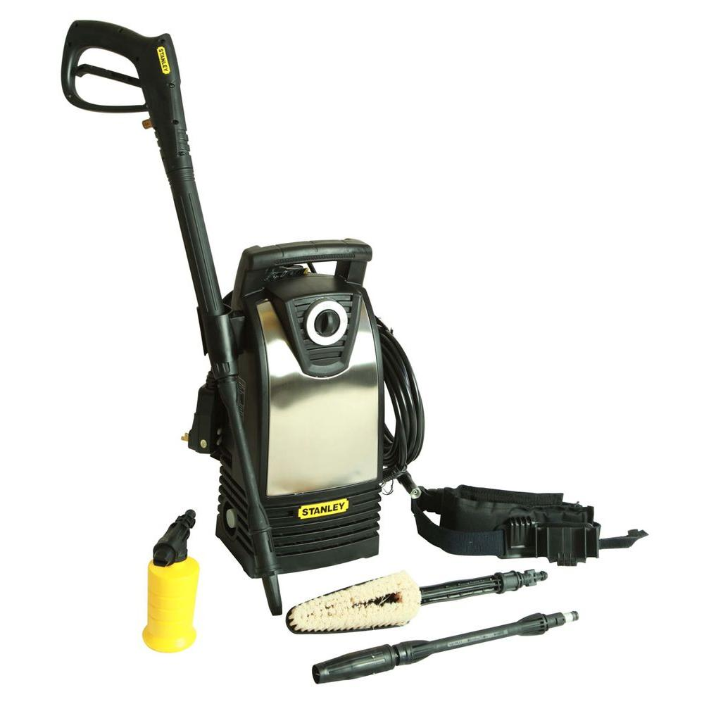 Stanley 1600-PSI 1.4-GPM Electric Pressure Washer with Accessories Included
