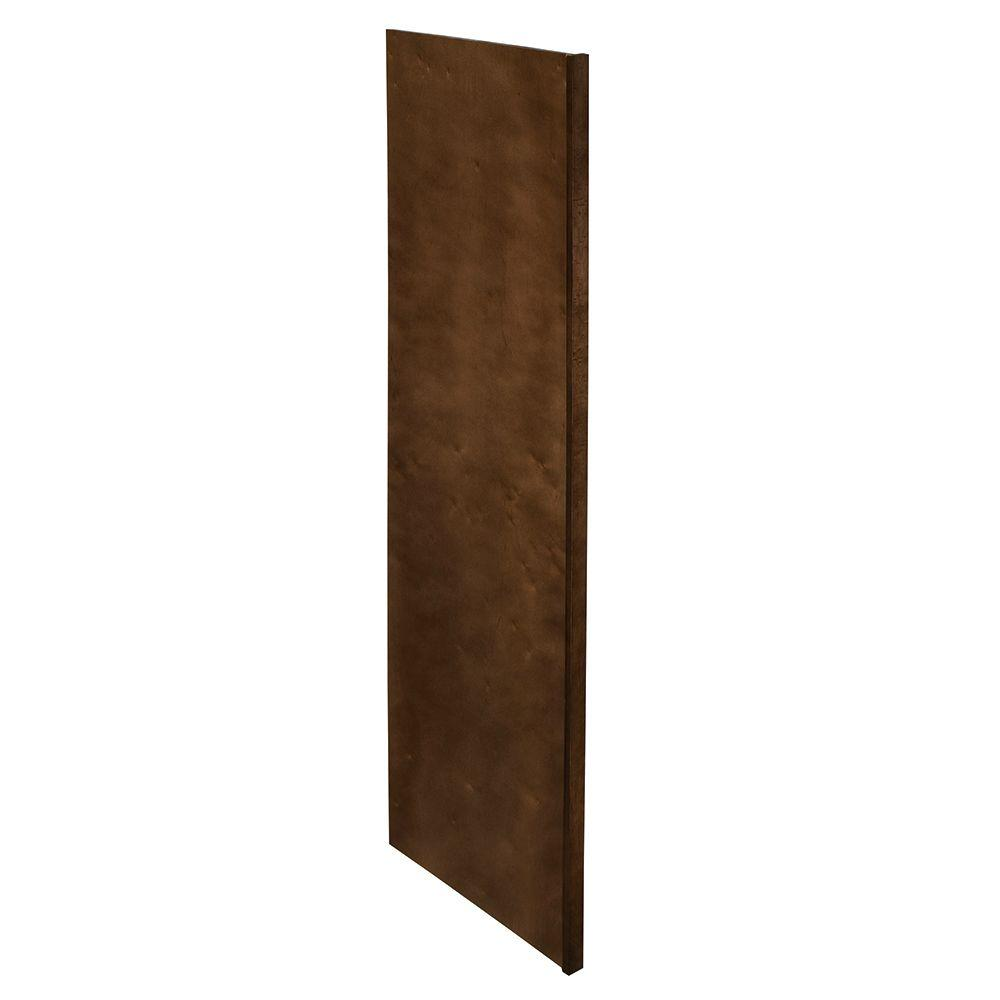 Home Decorators Collection Franklin Assembled 1.5 x 90 x 24 in. Pantry/Utility Kitchen Refrigerator Panel