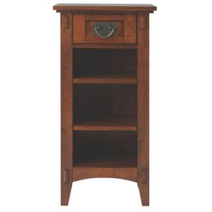 Home Decorators Collection Medium Oak Storage End Table by Home Decorators Collection
