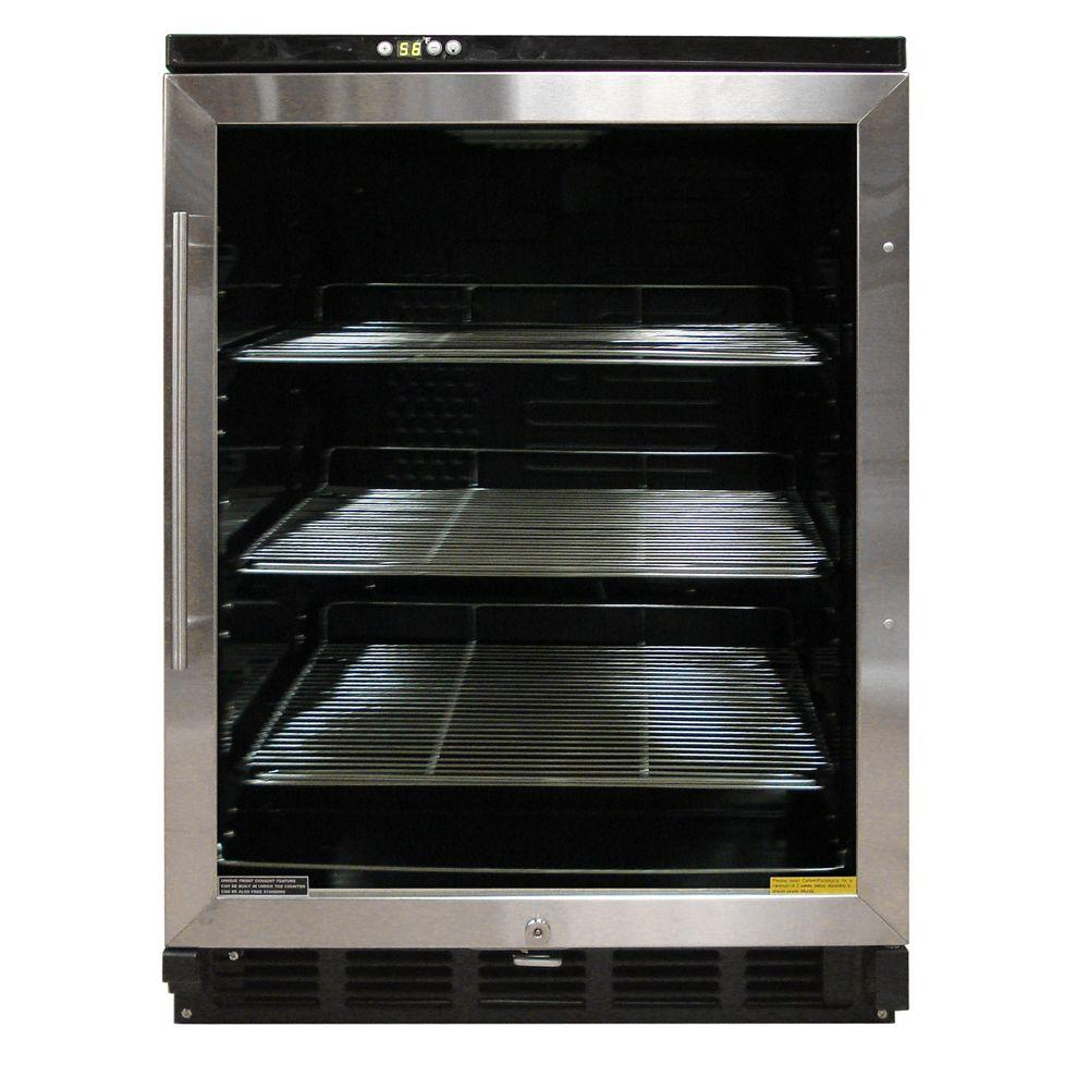 Vinotemp VT-58 Beverage Cooler in Black/Stainless-DISCONTINUED