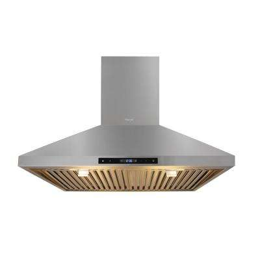 30 in. Wall Mount LED Light Range Hood in Stainless Steel