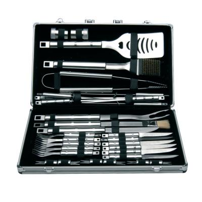 Cubo 33-Piece Stainless Steel Barbecue Set with Case