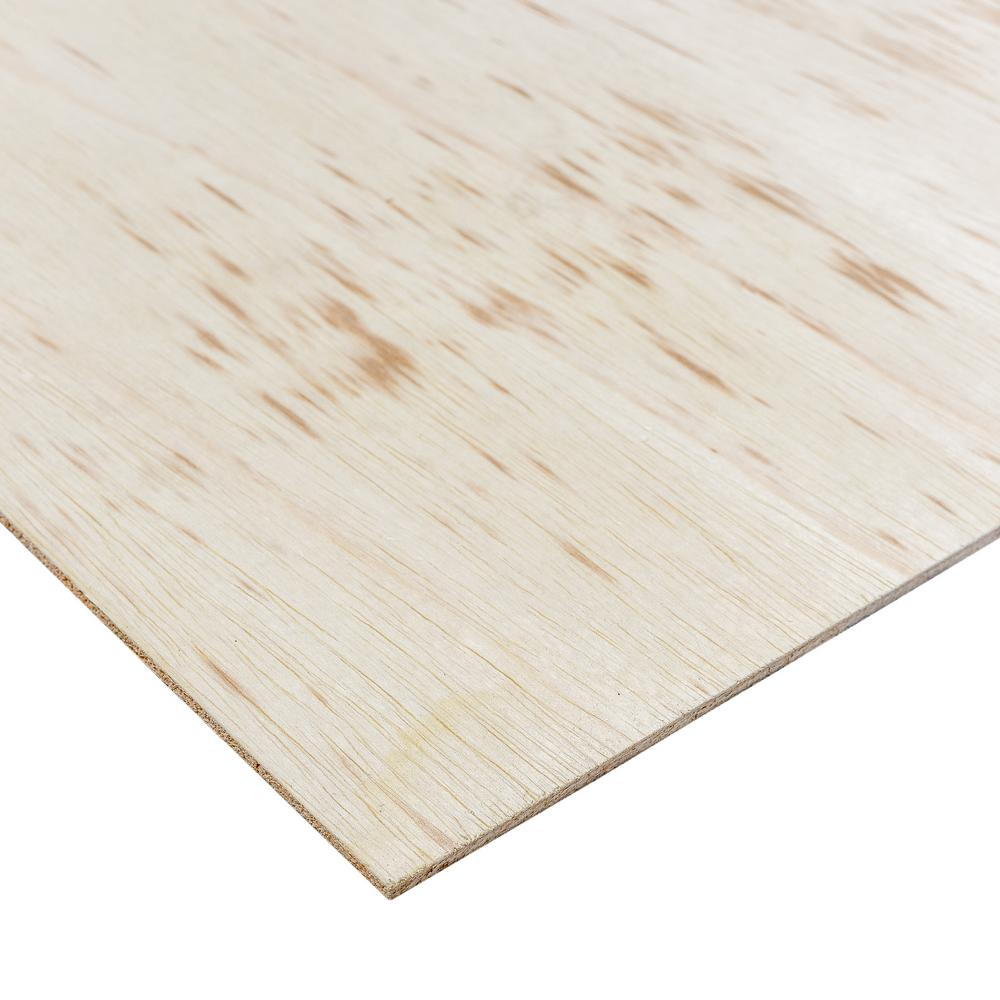 Dimensions Sande Plywood (Common: 1/4 in. x 2 ft. x 4 ft.; Actual: 0.205 in. x 23.75 in. x 47.75 in.)