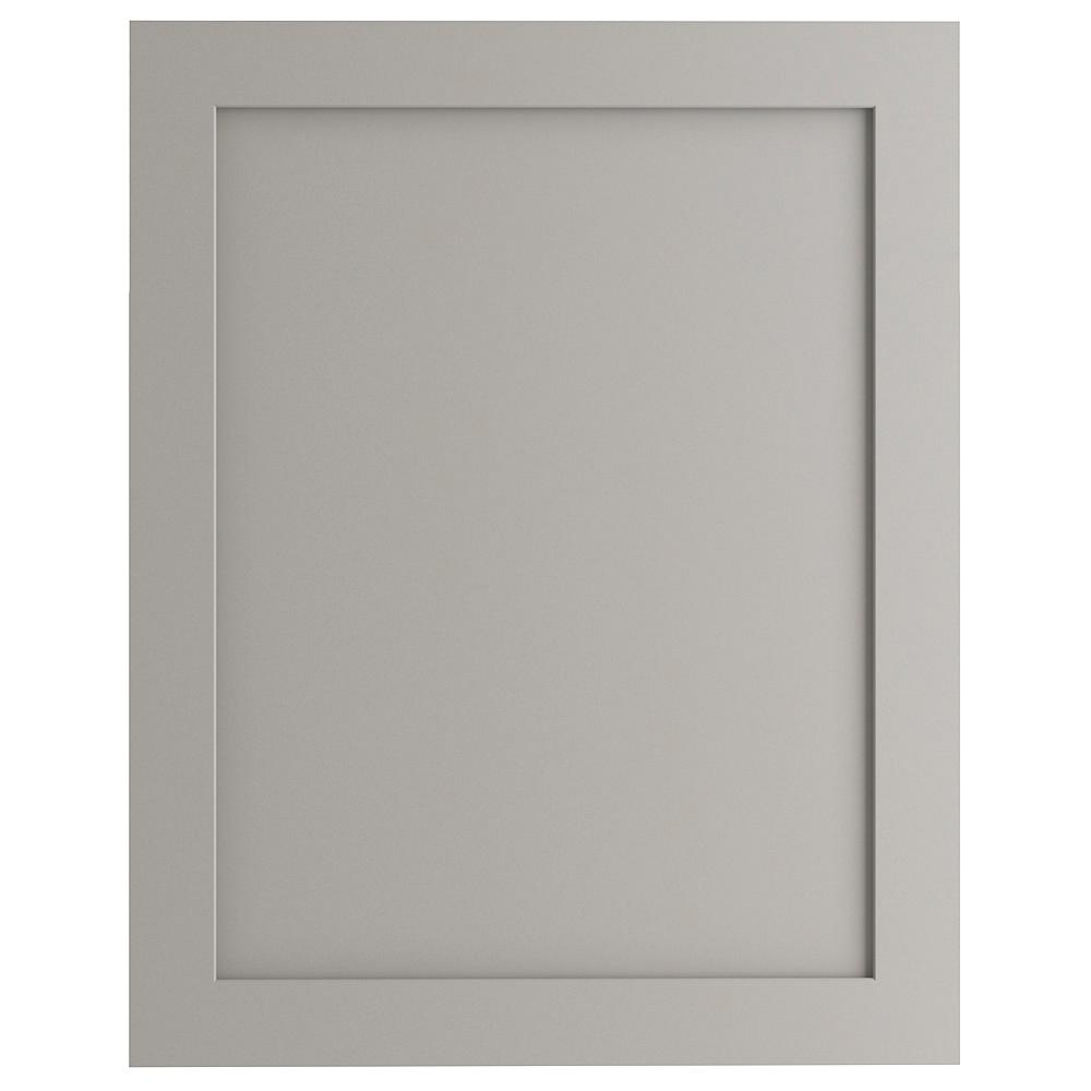 24x30 in. Decorative Base End Panel in Gray