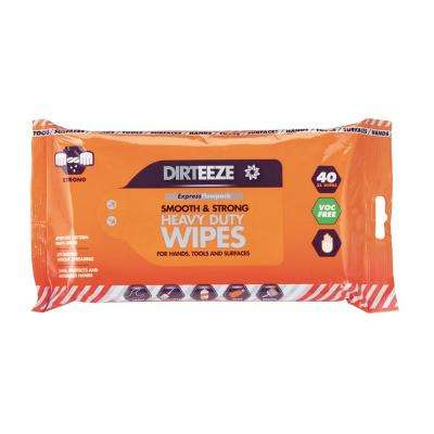 11.5 oz. Smooth and Strong Trade Wipes 40 CT Flow Pack