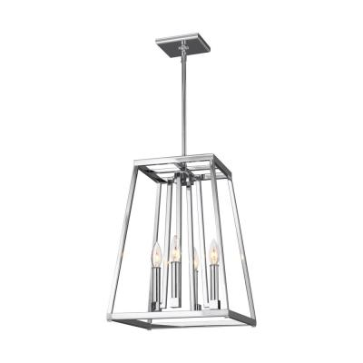 Conant 4-Light Chrome Pendant