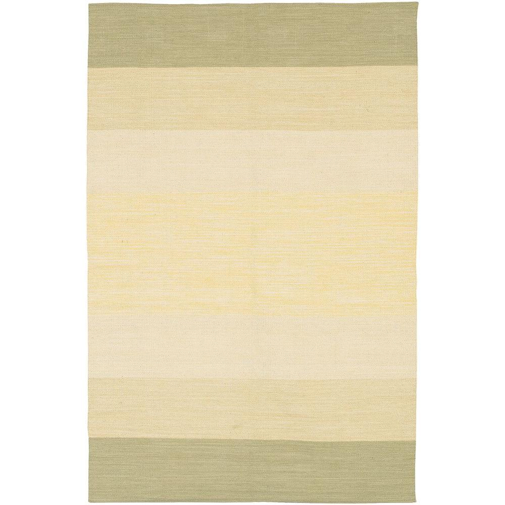 Chandra India Taupe/Cream 3 ft. 6 in. x 5 ft. 6 in. Indoor Area Rug