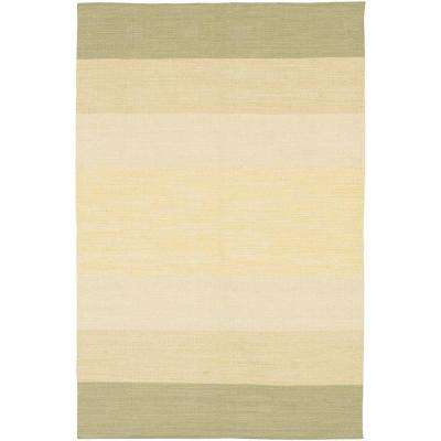 India Taupe/Cream 3 ft. 6 in. x 5 ft. 6 in. Indoor Area Rug