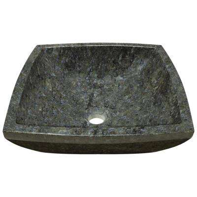 Stone Vessel Sink in Butterfly Blue Granite