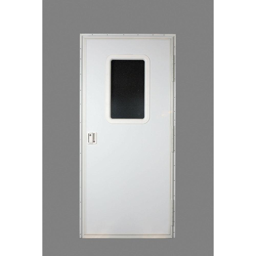 AP Products RV Square Entrance Door in Polar White