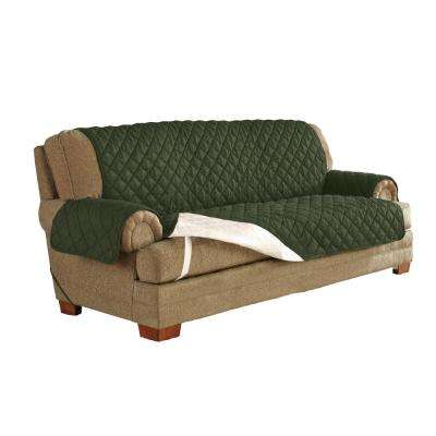 Moss Green Ultimate Waterproof Furniture Protector Treated with NeverWet Sofa