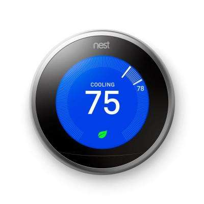 Learning Thermostat, 3rd generation