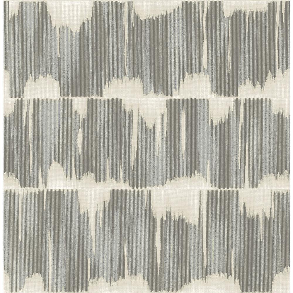 56.4 sq. ft. Serendipity Blue Shibori Wallpaper