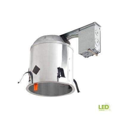 6 in. LED Recessed Housing Remodel Can