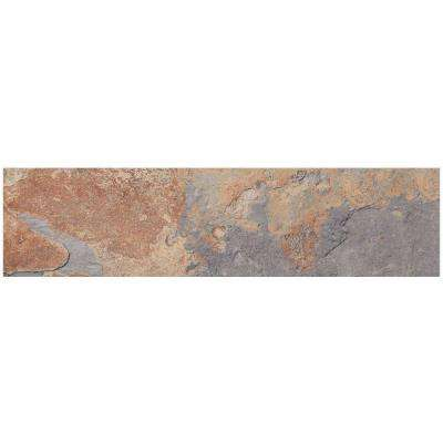 VitaElegante Ardesia 6 in. x 24 in. Porcelain Floor and Wall Tile (14.53 sq. ft. / case)