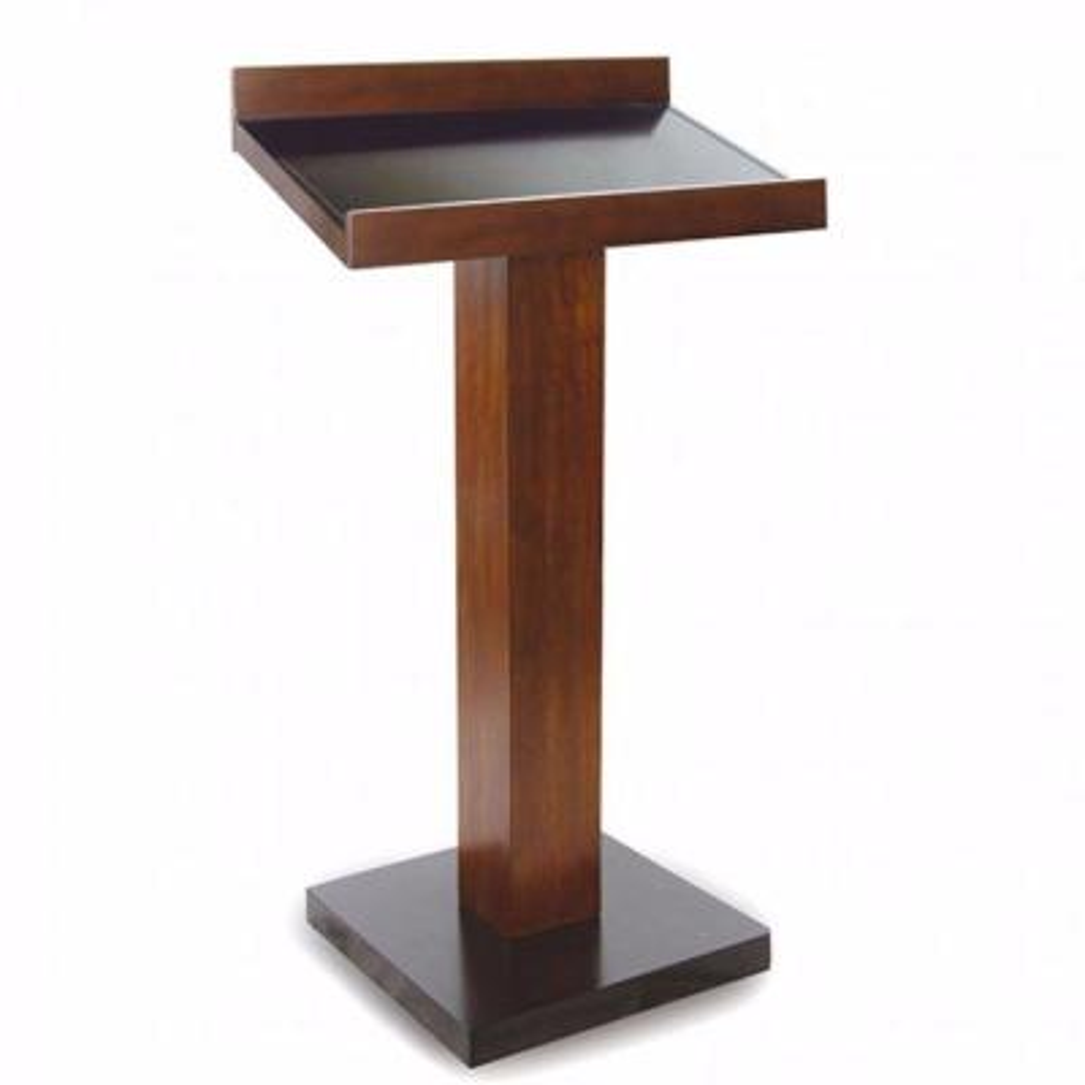 Catalia Contemporary 47 in. Height Oak and Espresso Wood Book Stand