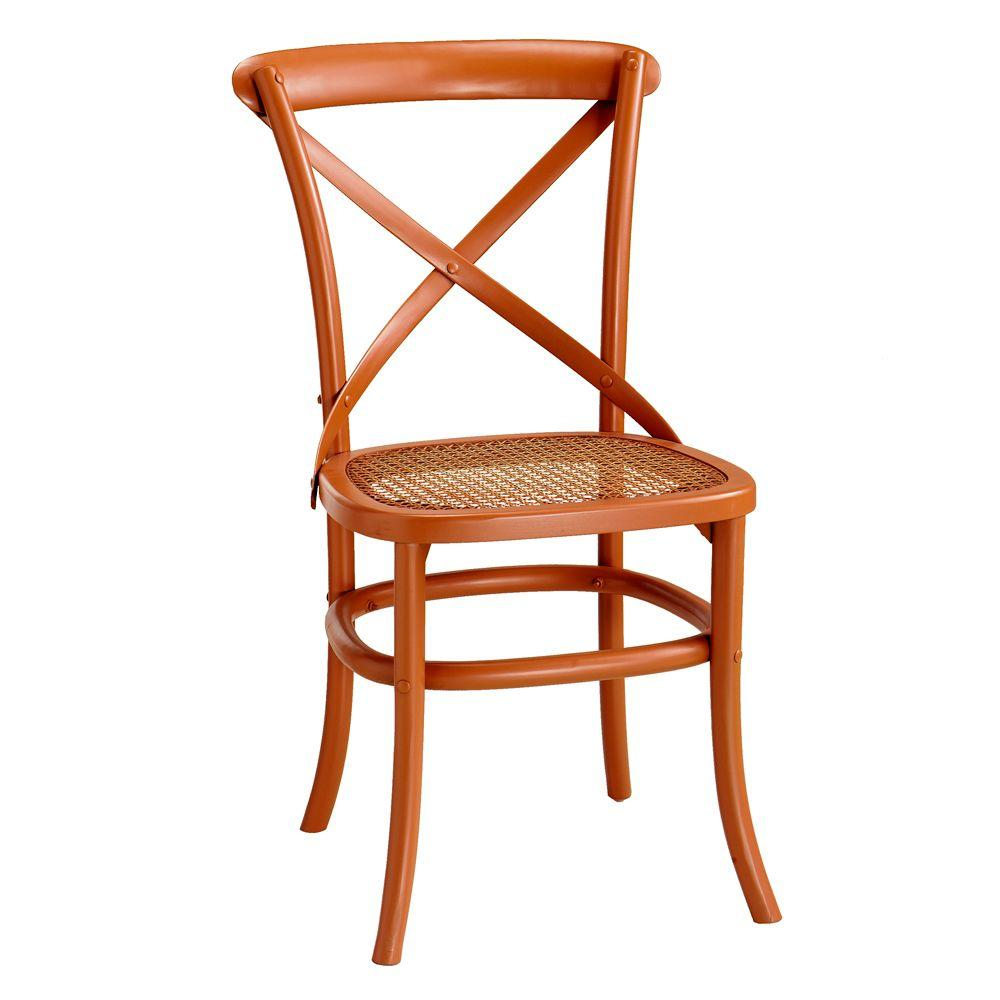 Home Decorators Collection 19.5 in. W Hamilton Nutmeg Bentwood Chair