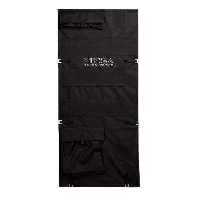 51.375 in. Pocket Door Organizer, Black