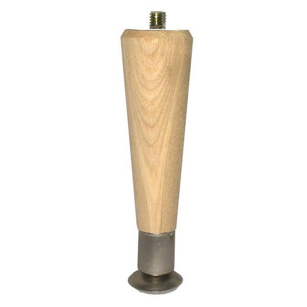 Hardwood round taper furniture leg