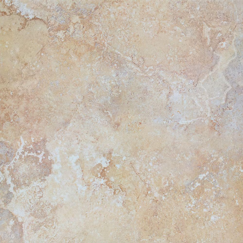 Msi Luxor Maize 18 In X 18 In Glazed Porcelain Floor And
