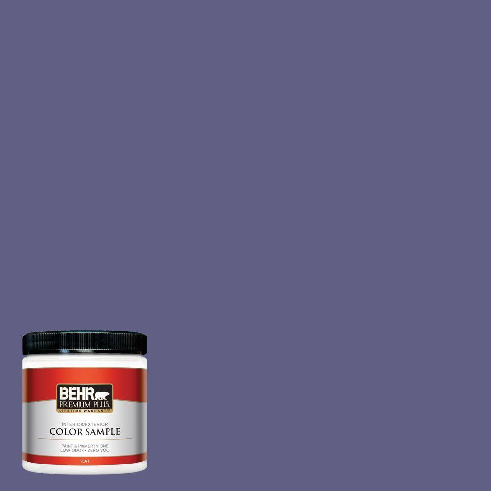 8 oz. #640D-7 Pharaoh Purple Interior/Exterior Paint Sample