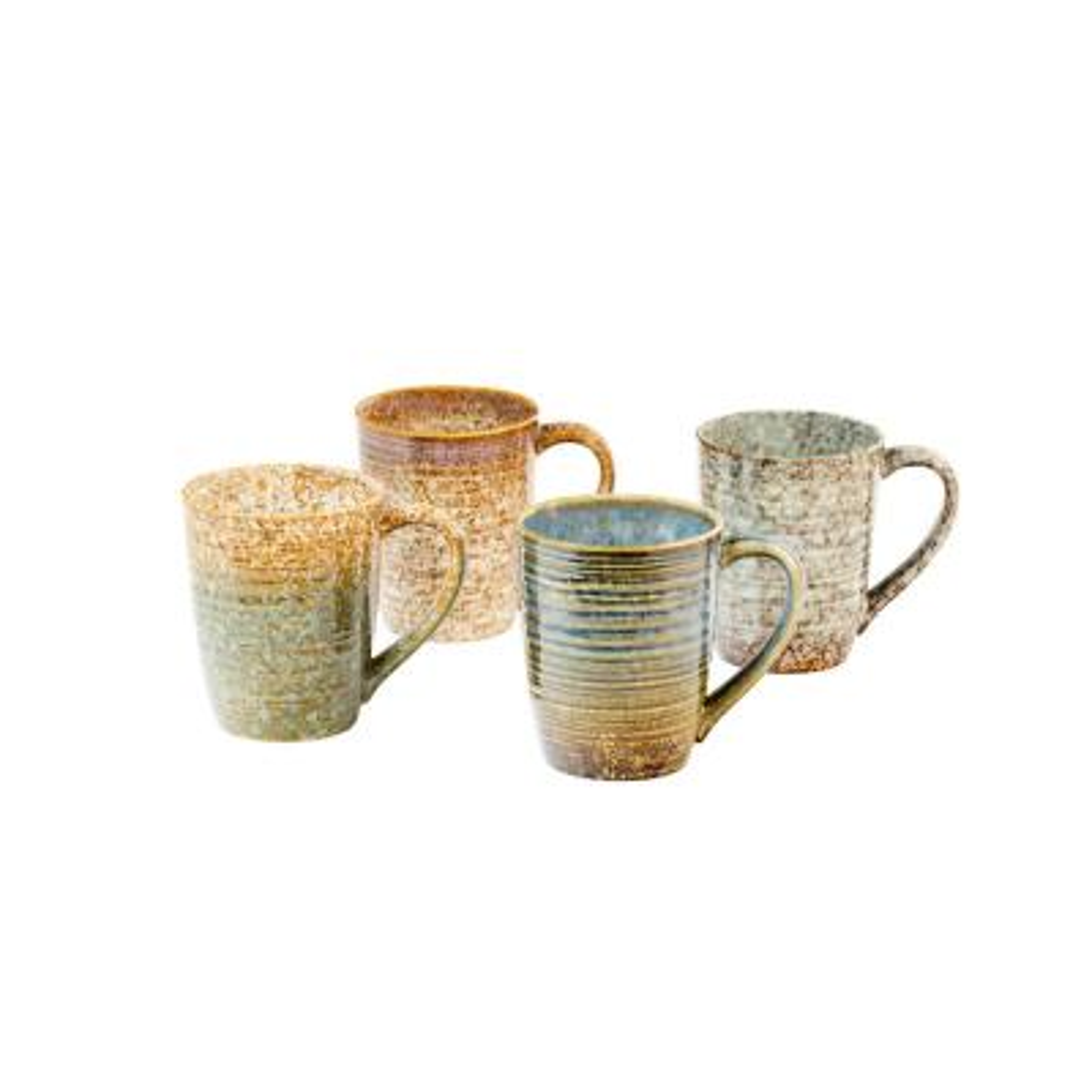 Crafton Mixed Mugs (Set of 4)