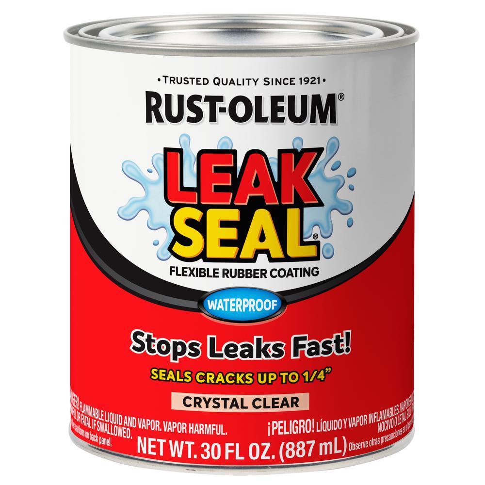 Rust-Oleum Stops Rust 11 oz  LeakSeal Clear Flexible Rubber