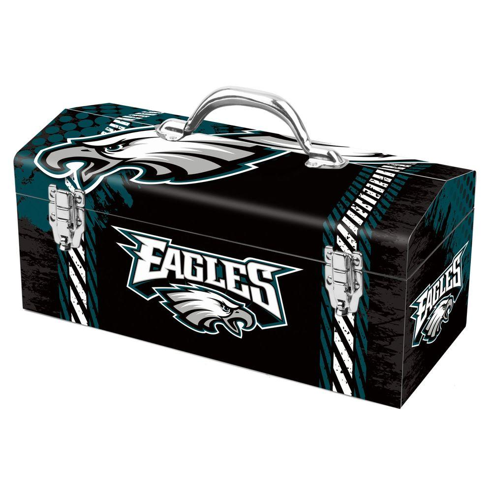 Team ProMark 7.2 in. Philadelphia Eagles NFL Tool Box