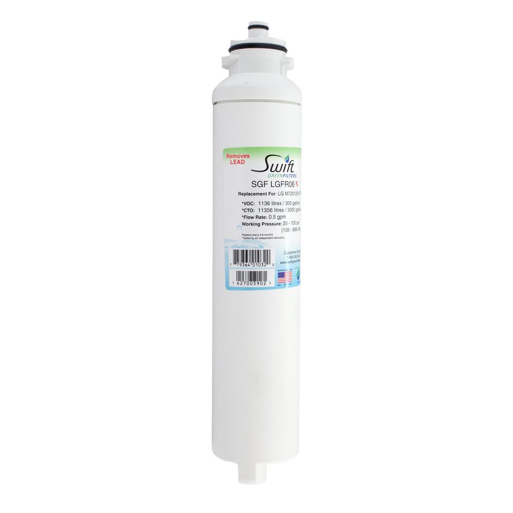LG - M7251253 FR-06 Compatible Refrigerator Water Filter