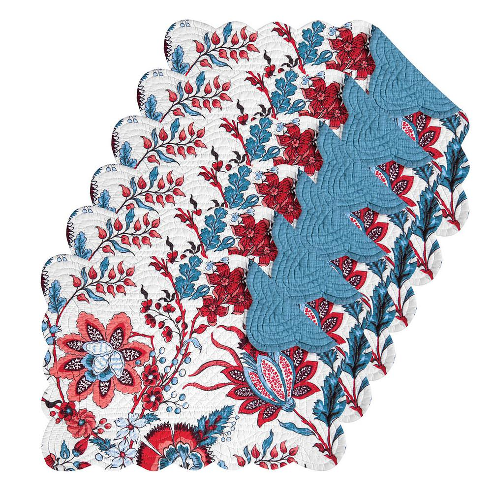Adrienne Blue Placemat (Set of 6)