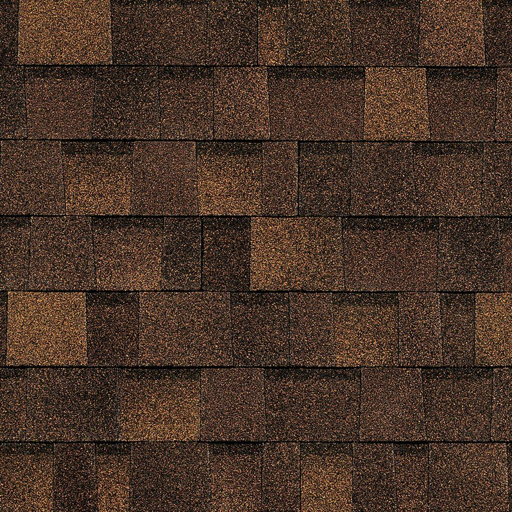Oakridge Algae Resistant Brownwood Laminate Architectural Shingles (32.8 sq. ft.