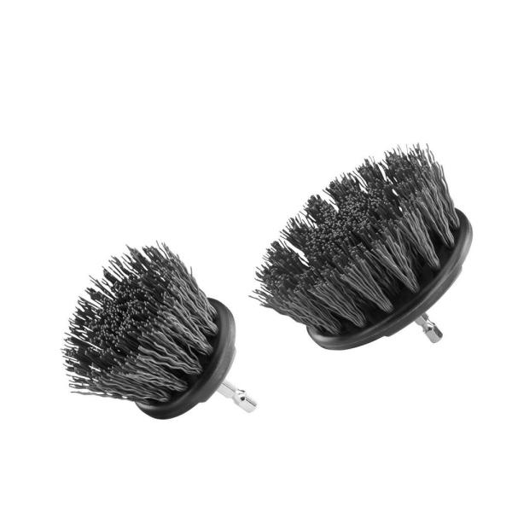Hard Bristle Brush Cleaning Kit (2-Piece)