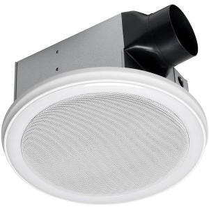 Home Depot Bathroom Fan. Home Netwerks Decorative White 100 CFM Bluetooth Stereo Speaker Bathroom  Exhaust Fan with LED Light and Remote 7130 06 BT The Depot