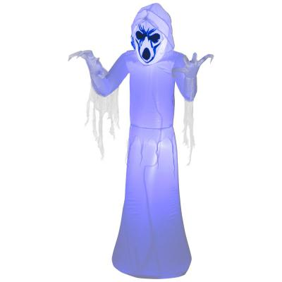 Home Accents Holiday Pre-Lit Light Inflatable Frightening Reaper Airblown