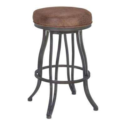 Laurel 30 in. Brown Bar Stool