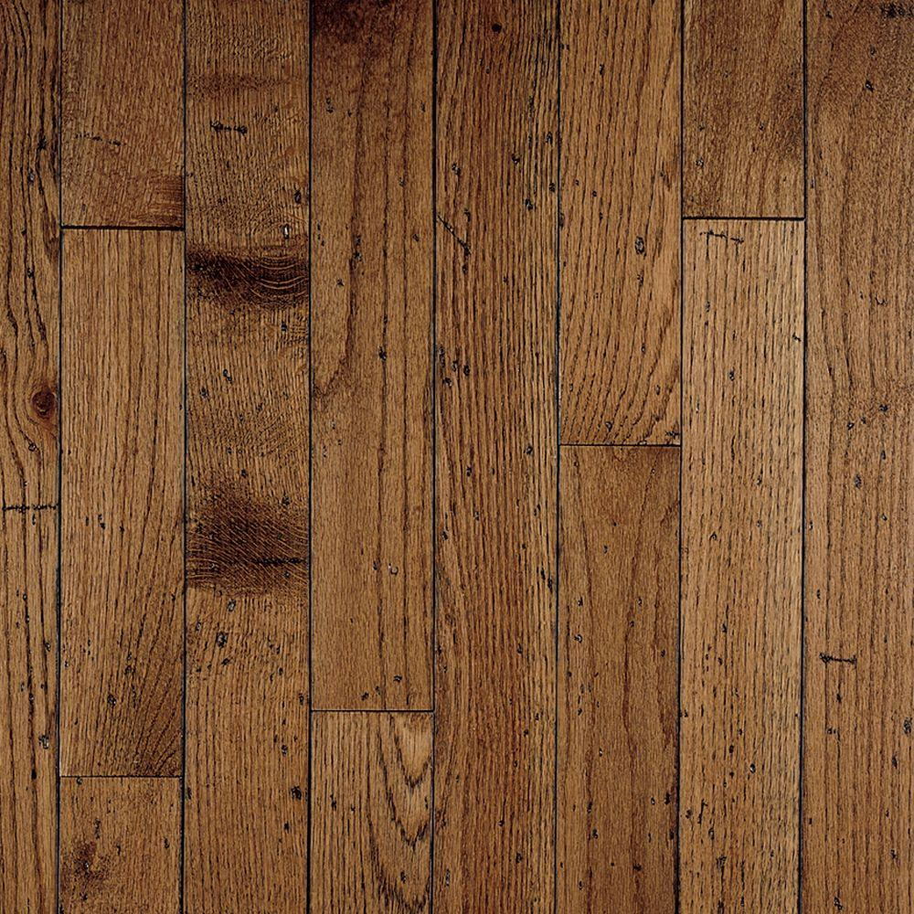 Bruce Antique Oak 3/4 in. Thick x 3-1/4 in. Wide x Random Length Solid Hardwood Flooring (22 sq. ft. / case)