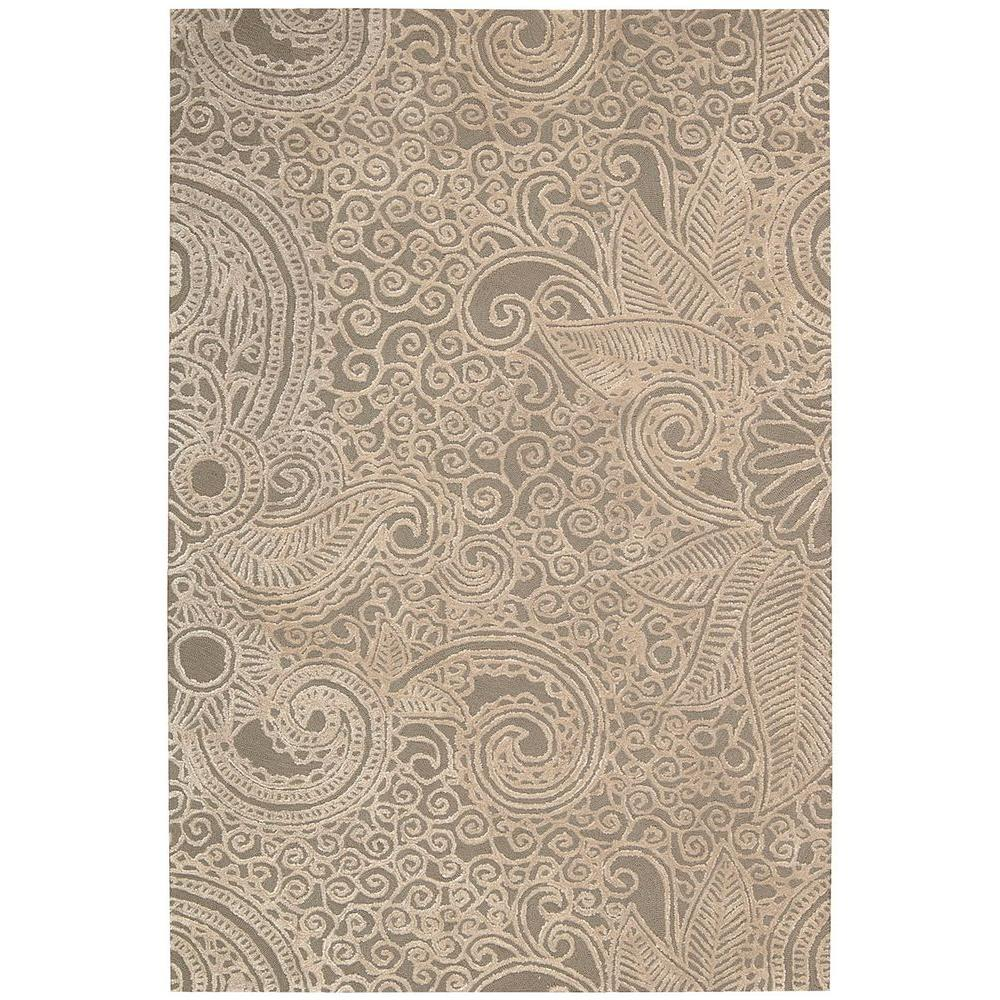 Escalade Cappuccino 8 ft. x 10 ft. 6 in. Area Rug