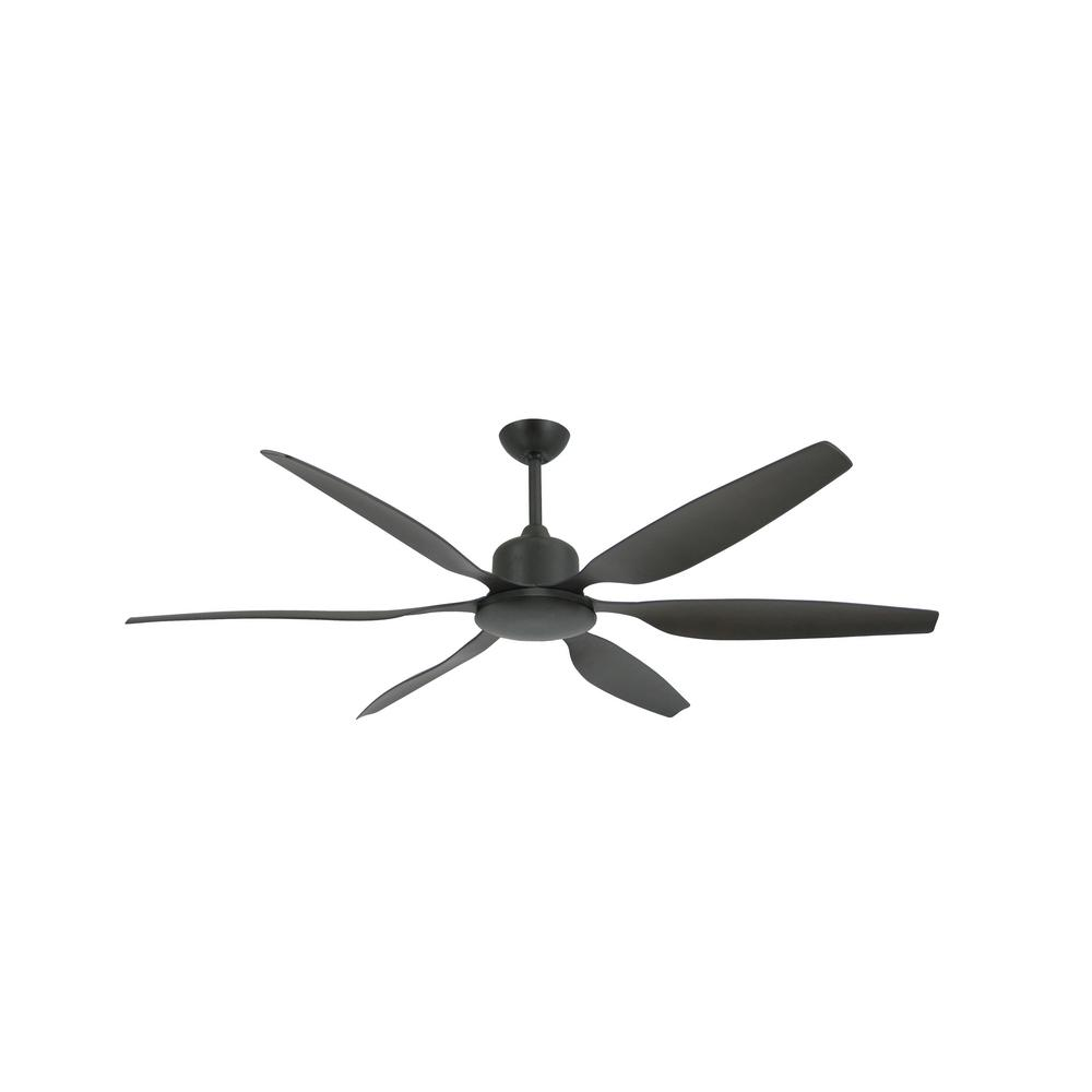 TroposAir Titan II 66 in. Indoor/Outdoor Oil Rubbed Bronze Ceiling Fan with Remote Control