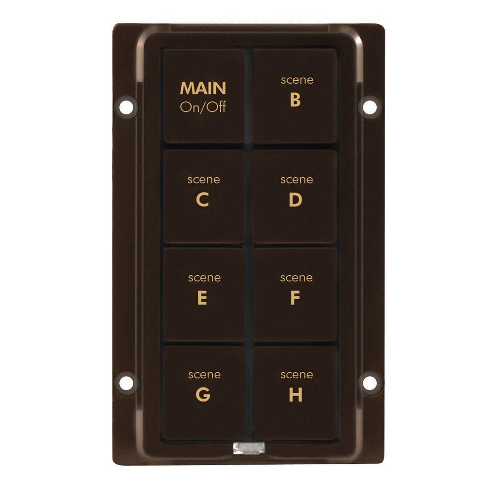 Insteon KeypadLinc 8-Button Replacement Keypad Kit