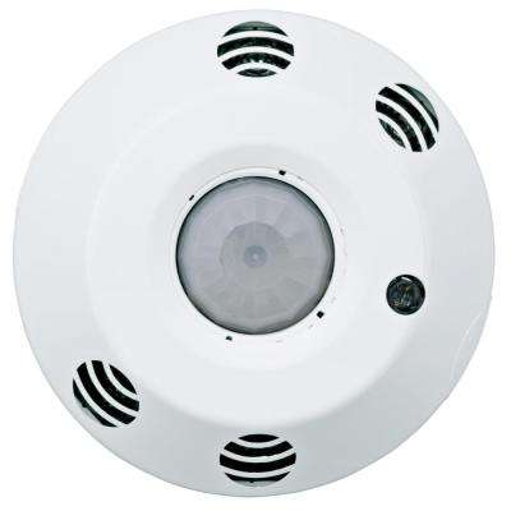 Provolt Commercial Grade Multi-Technology Passive Infrared/Ultrasonic 1000 sq. ft. Ceiling Mount Occupancy Sensor, White