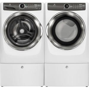 Electrolux 80 cu ft electric dryer with steam in white energy 10 sciox Choice Image