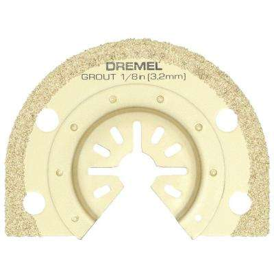 Multi-Max 1/8 in. Grout Removal Oscillating Tool Blade